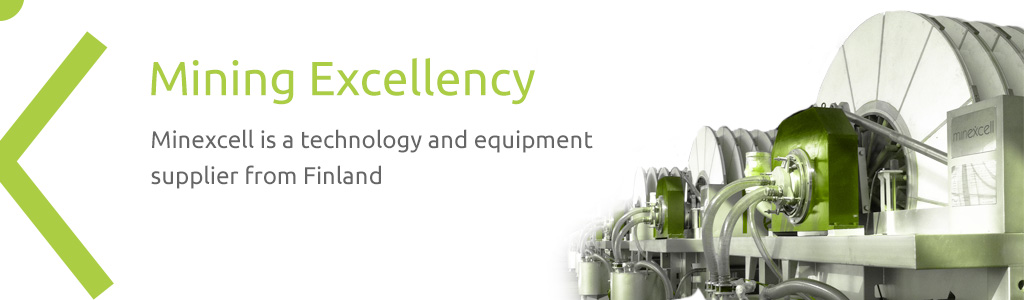 Minexcell is a technology and equipment supplier from Finland